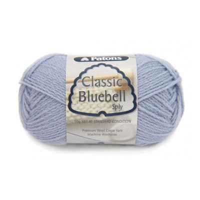 patons classic bluebell 5ply yarn