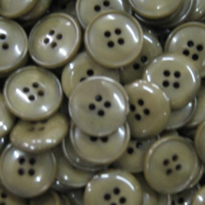 Mid Green Brown Buttons