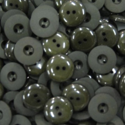 Olive Matte Shiny Buttons