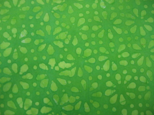 Light Green batik