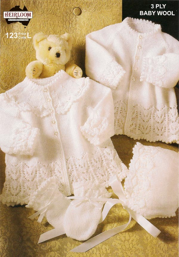 3ply baby wool no.123