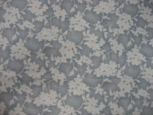 Blue dusty floral