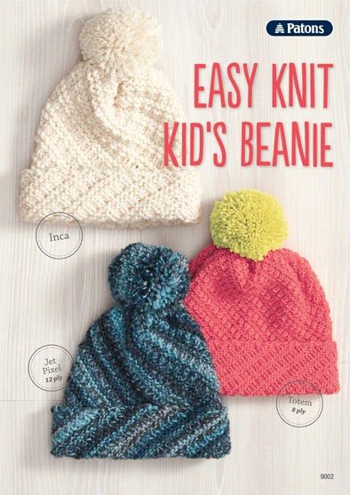 Easy Knit Kid's Beanie