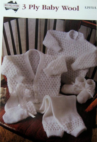 3 ply Baby Wool no.125