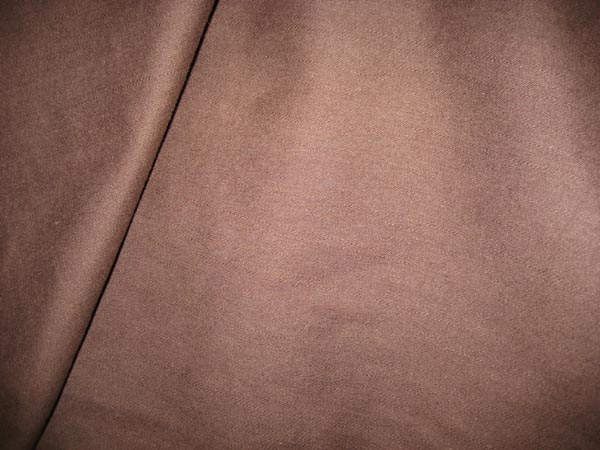 Rich Chocolate Brown Stretch Cotton
